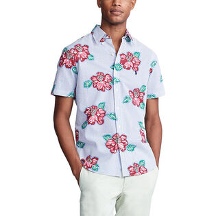 Men's Classic Fit Seersucker Shirt