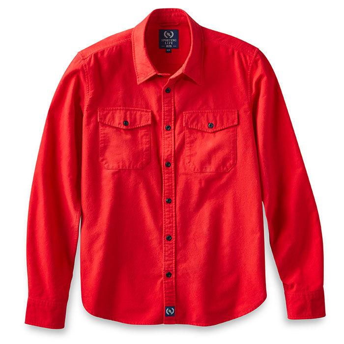 Men's Solid Chamois Shirt
