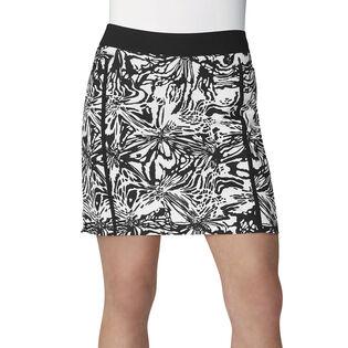 Jupe-short de golf imprimé Adistar pour femmes