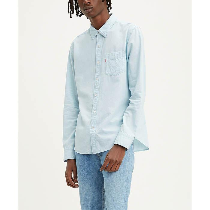 Men's Slim Sunset One Pocket Shirt