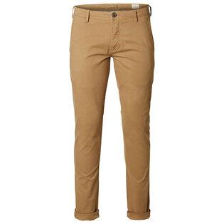 Pantalon chino à coupe ajustée pour hommes