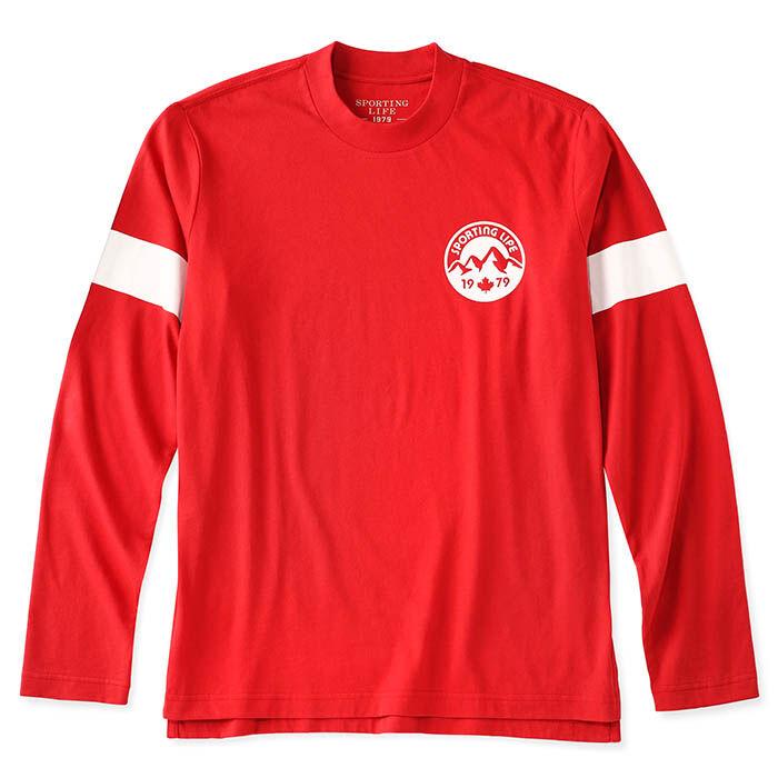 Men's Mountain Ski Long Sleeve T-Shirt