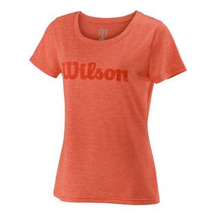 Women's Script Tech T-Shirt