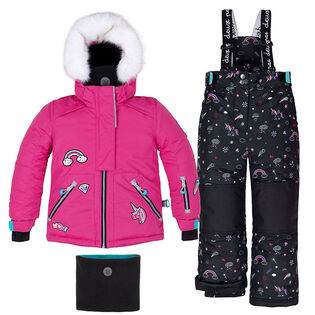 Girls' [2-6] Rainbow Club Two-Piece Snowsuit