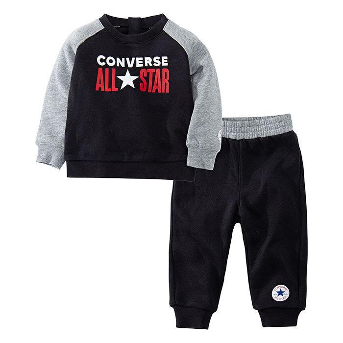 Boys' [2-4T] Crew Sweatshirt + Jogger Two-Piece Set