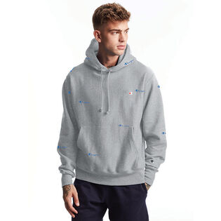 Men's Reverse Weave® Scattered Logo Hoodie