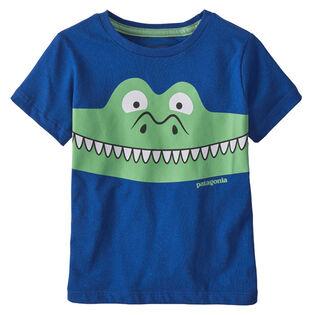 T-shirt à motif en coton biologique pour enfants [2-5]