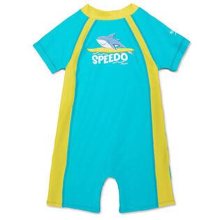 Kids' [12M-3Y] Begin To Swim One-Piece Snapsuit