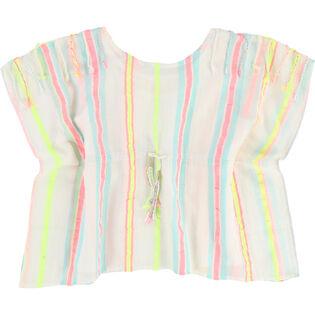 Girls' [3-6] Woven Stripe Blouse