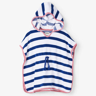Girls' [2-6] Nautical Stripes Terry Cover-Up