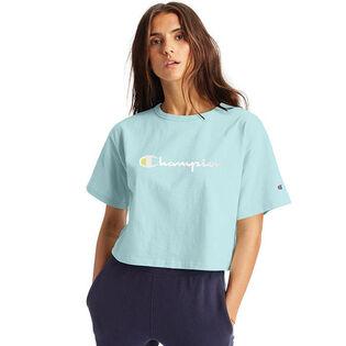 T-shirt court Vintage Logo Heritage pour femmes