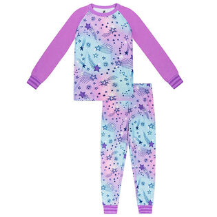 Junior Girls' [8-14] Cosmic Two-Piece Pajama Set