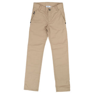Junior Boys' [4-16] Cotton Twill Pant