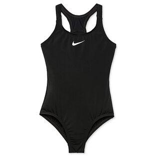 Maillot de bain une pièce sport à dos nageur pour filles juniors [7-16]