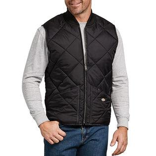 Men's Quilted Nylon Vest