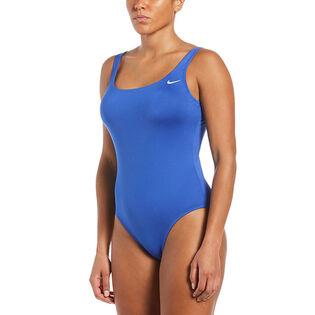 Women's Essential U-Back One-Piece Swimsuit