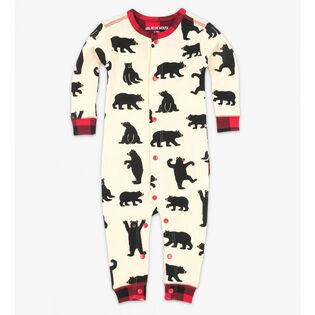Babies' [3-24M] Black Bears Union Suit