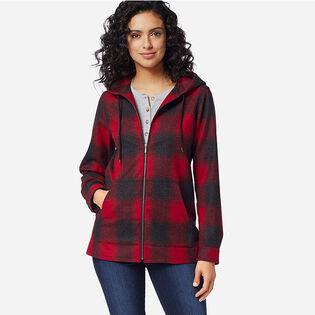 Women's Wool Zip Hoodie