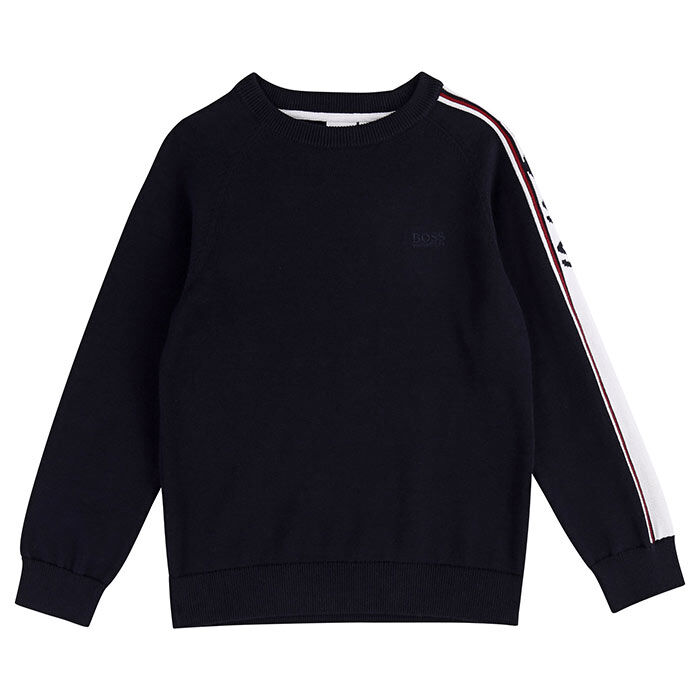 Junior Boys' [4-16] Jacquard Logo Sweater
