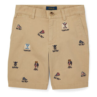 Boys' [2-4] Slim Fit Stretch Chino Short