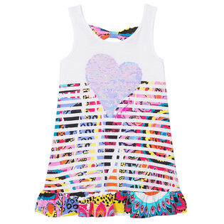 Junior Girls' [7-14] Ruffle Bow Tank Top