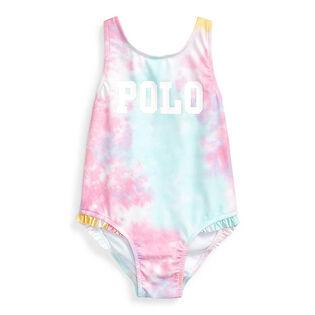 Maillot de bain une pièce à motif tie-dye pour bébés filles [9-24M]