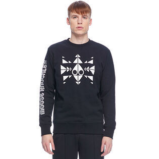 Men's Trippy Logo Pullover Sweater