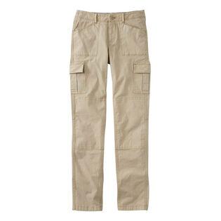 Pantalon cargo en toile extensible pour femmes