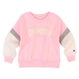 Girls' [2-6X] Sherpa Crew Sweatshirt