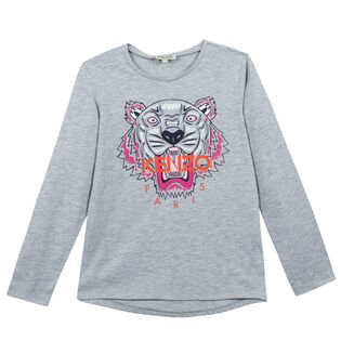 Junior Girls' [8-16] Tiger T-Shirt