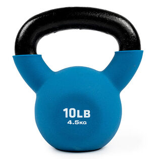 Neoprene-Coated Kettlebell (10 Lb)