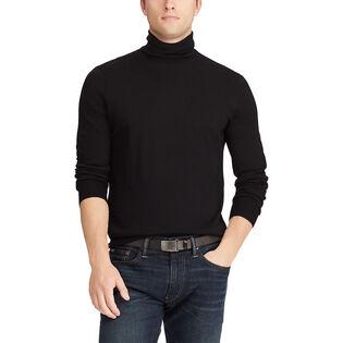 Men's Merino Wool Turtleneck