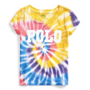 Girls' [2-4] Tie-Dye Cotton Jersey T-Shirt