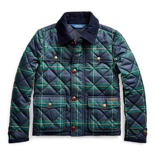 Junior Girls' [7-16] Tartan Plaid Barn Coat