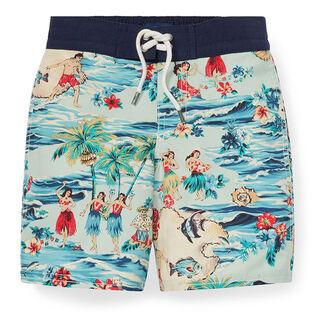 Boys' [2-4] Sanibel Luau Swim Trunk