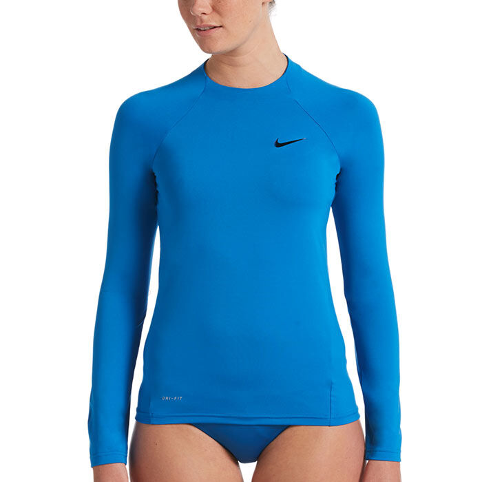 Women's Essential Long Sleeve Hydroguard Rashguard