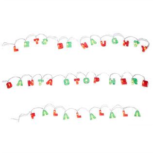 LED Holiday String Lights