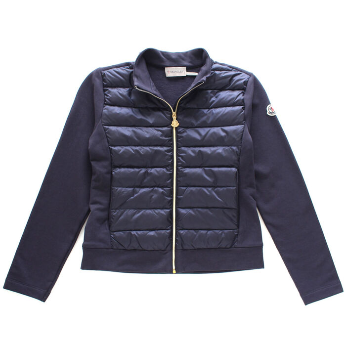 Junior Girls' [8-14] Quilted Down Sweater