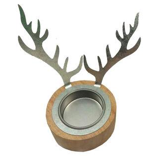 Deer Antler Tealight Holder