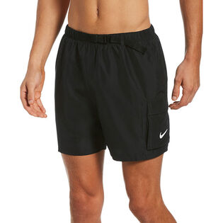 "Men's Belted Packable 5"" Volley Swim Trunk"