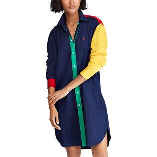 Women's Colourblocked Cotton Dress