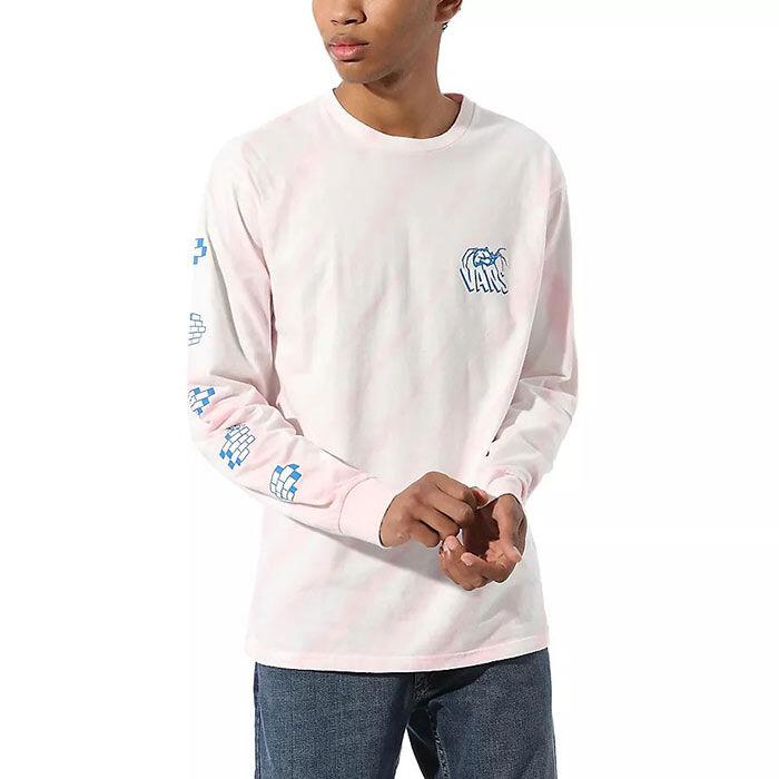 Men's Widow Maker Tie-Dye Long Sleeve T-Shirt