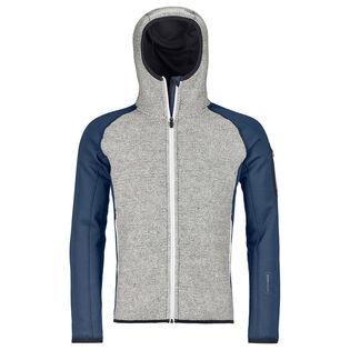 Men's Fleece Plus Classic Knit Hoody Jacket