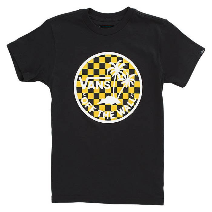 T-shirt Dual Palm Logo Fill pour garçons [4-7]