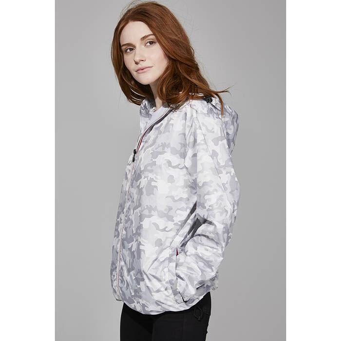 Women's Full-Zip Packable Rain Jacket