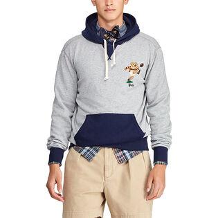 Men's Rugby Bear Fleece Hoodie