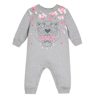 Baby Girls' [6-18M] Tiger Fleece Jumpsuit