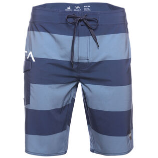 Men's Uncivil Stripe Boardshort