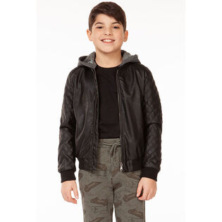 Junior Boys' [8-16] Hooded Bomber Jacket