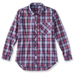 Women's Boyfriend Fit Flannel Shirt